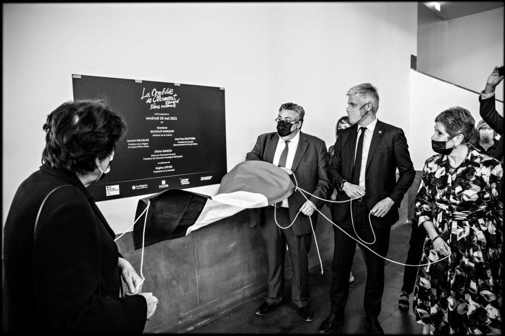 Inauguration La Comédie de Clermont - 28 mai 2021 © Jean-Louis Fernandez