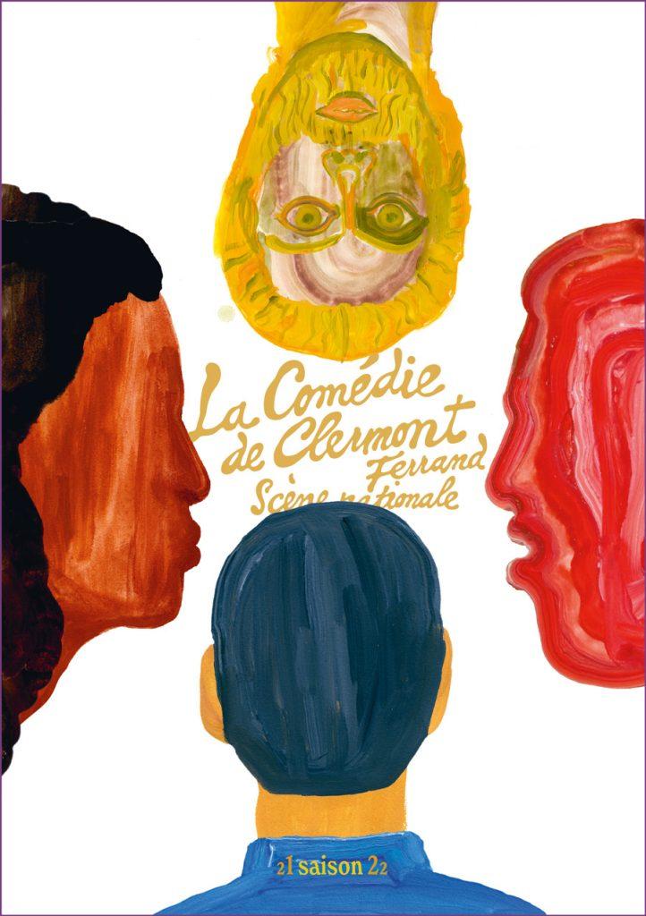 Cc Brochure Couverture Seule Contour Violet
