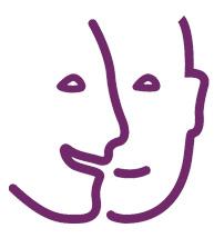 Logo Handicap Mental Violet